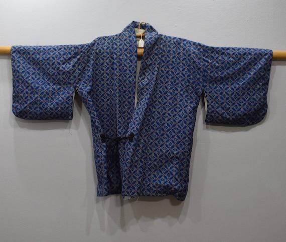 Kimono Japanese Blue Pink Kimono