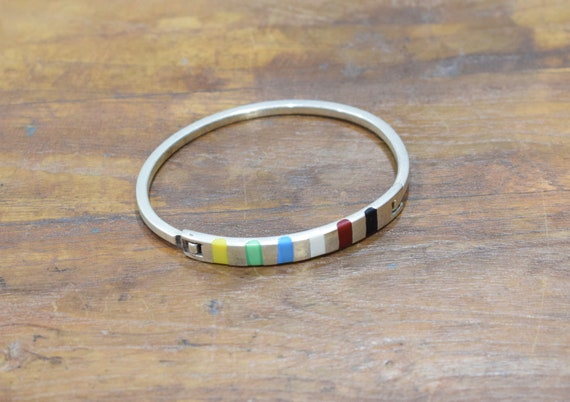 Bracelet Sterling Silver Stone Cuff Bracelet