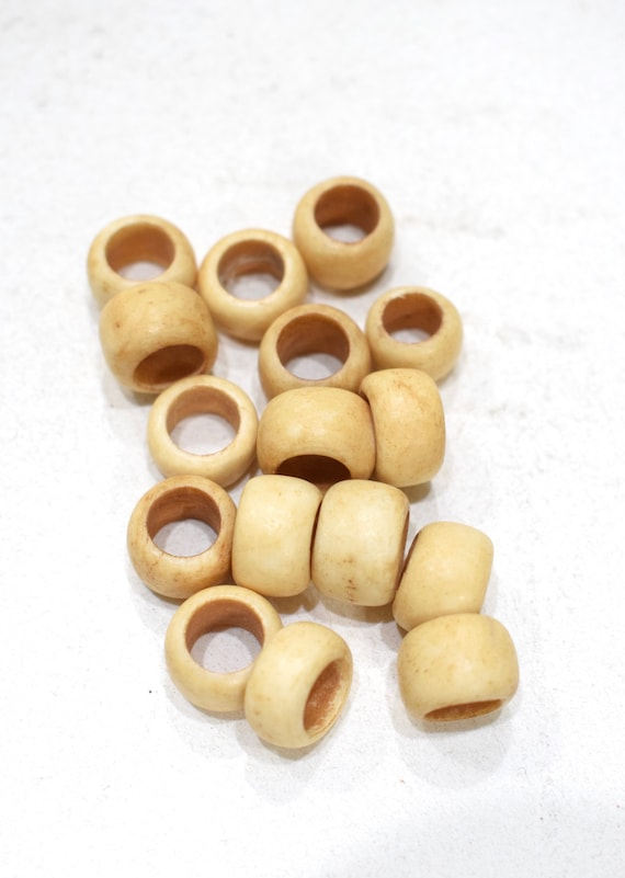 Beads Indonesian Bone Round Beads 14mm