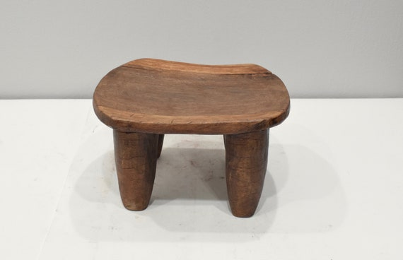 African Stool Lobi Wood Stool Burkina Faso