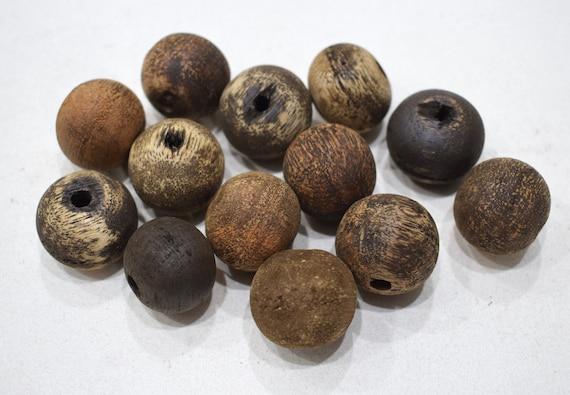 Beads Philippine Patikan Natural Wood Beads 24-25mm