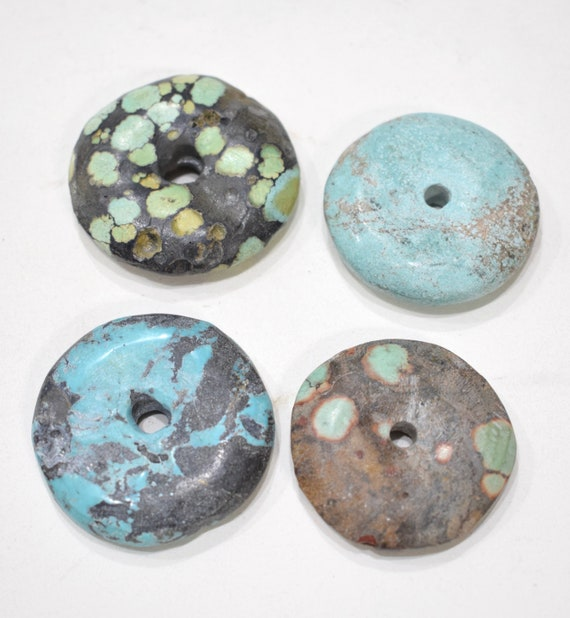 Beads Chinese Turquoise Large Round Beads 40mm - 42mm