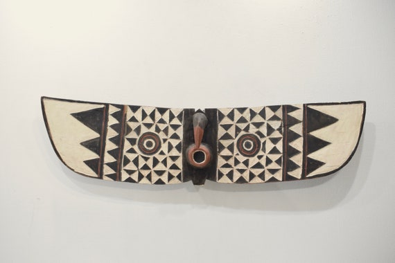 African Mask Bobo Bwa Hawk Mask Burkina Faso