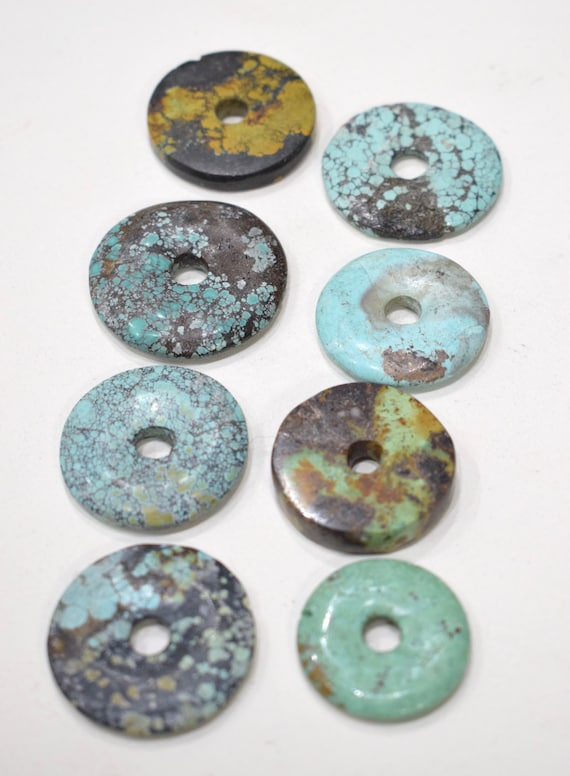 Beads Chinese Turquoise Mixed Bag Round Beads 26mm - 34mm