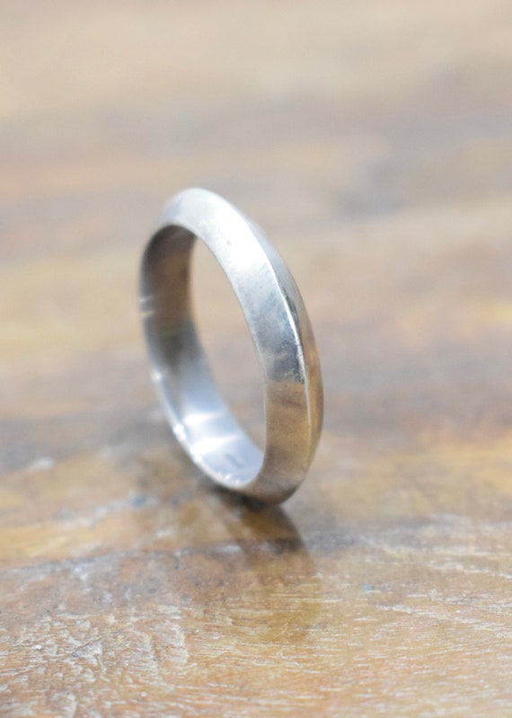 Ring Sterling Silver Hill Tribe Band Ring