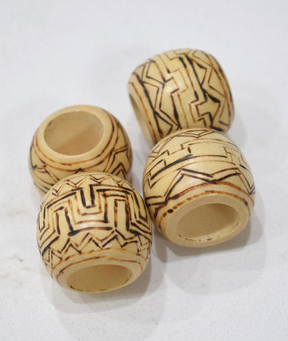 Beads Philippine Etched Large Round Beads 40mm
