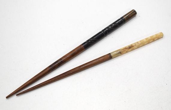 Hair Sticks Indonesian Bone & Wood Hair Sticks