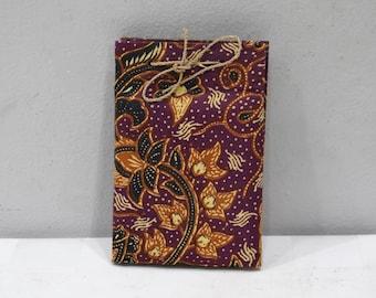Journals Batik Fabric Handmade Paper Notepad