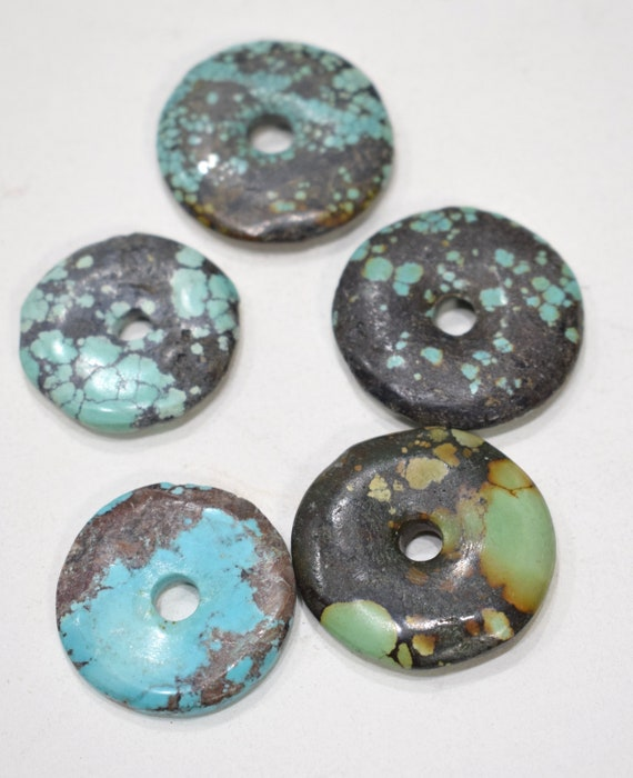 Beads Chinese Turquoise Large Round Beads 29-33mm