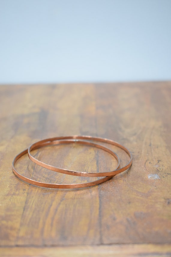 Bracelet 2 Copper Bangle Healing Bracelet