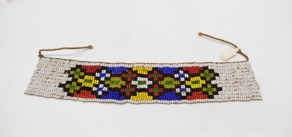 African Zulu Beaded Anklet South Africa Beaded Zulu Anklet