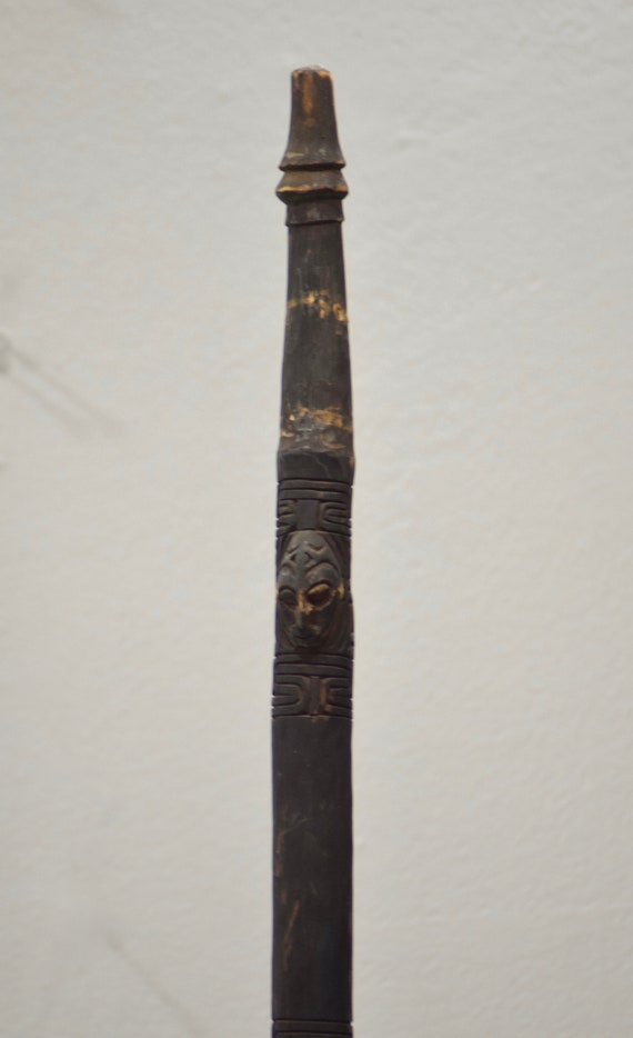 Papua New Guinea Dance Spear Murik Lakes Ceremonial Dance Spear