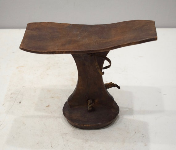 African Turkana Head Rest Wood Kenya Tribal Turkana Head Rest