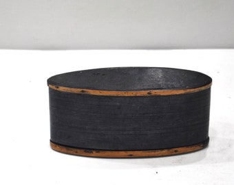 Boxes Assorted Indonesian Bamboo Oval Boxes