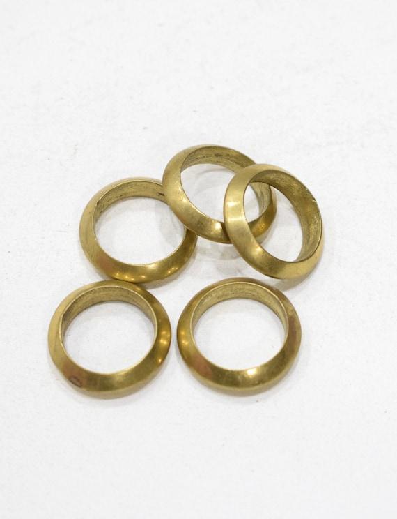 Beads Naga Brass Ring Beads 24-25mm