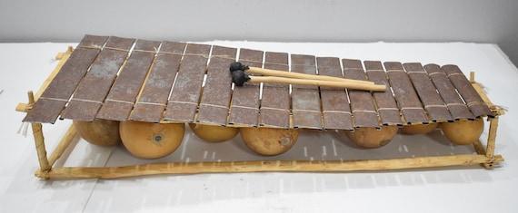 Balaphone 16 Metal Keys African Balaphone Instrument Burkina Faso