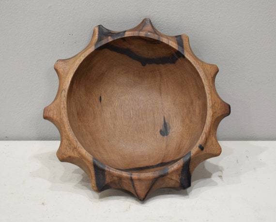 Philippines Bowl Ifugao Star Wood Bowl