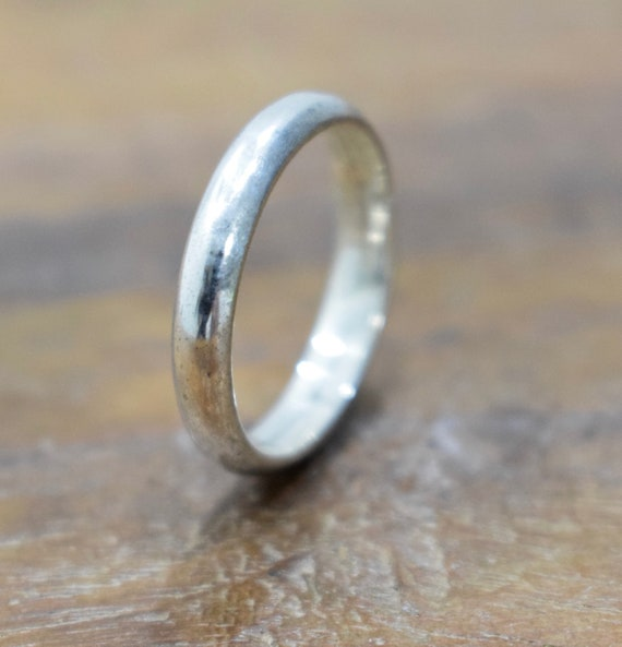 Sterling Silver Wire Band Ring