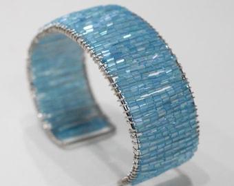 Bracelets Beaded Cuff Assorted Color Adjustable Bracelets