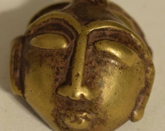 Pendant India Nagaland Brass  Pendant 45mm
