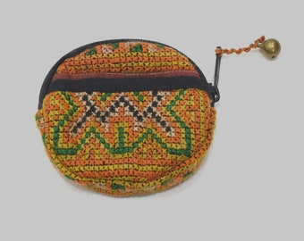 Purses Miao Hill Tribe Embroidered Assorted Coin Purses