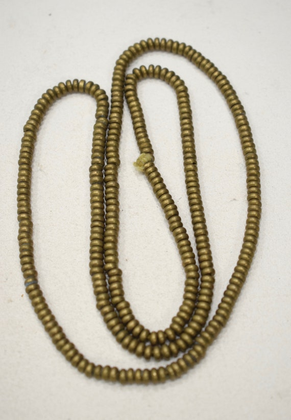 Beads Indonesian Brass Metal Beads 5mm
