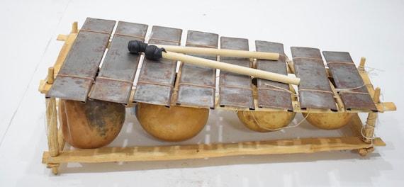 Balaphone 8 Metal Keys African Balaphone Instrument Burkina Faso