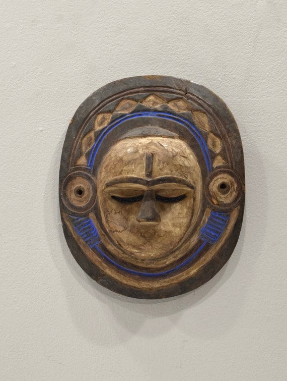 Mask African Eket Female Mask 11""