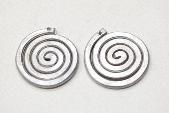 Beads Old Masai/Turkana Aluminum Pendants 30mm