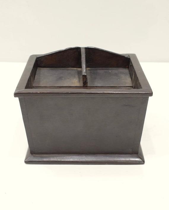 Cambodia Betelnut Wood Container Box