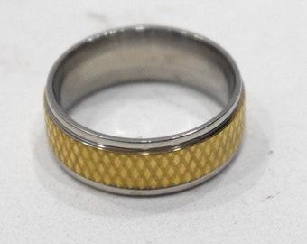 Ring Stainless Steel Brass Spinner Ring