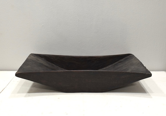 Papua New Guinea Coconut Cream Bowl Wuvulu Island Wood Bowl
