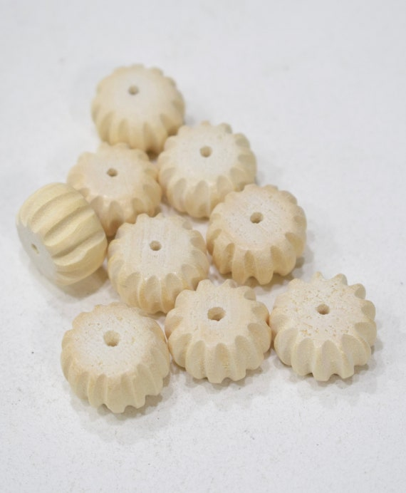Beads White Wood Pumpkins Philippines 20mm