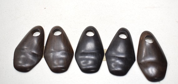 Beads Philippines Kamagong Iron Wood Pendant 50mm