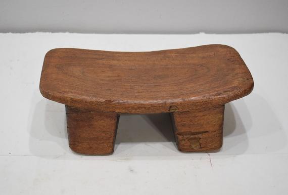 African Stool Lobi Wood Carved Stool Burkina Faso Status Chair Stool