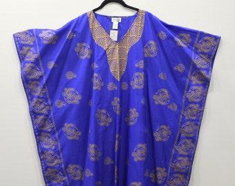 Shirt Royal Blue Dashiki