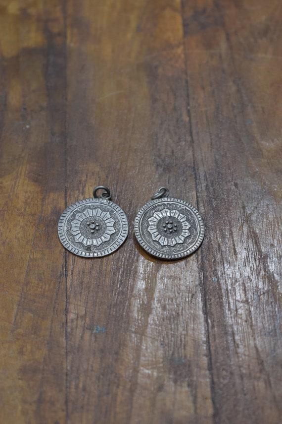 Pendant Tibetan Silver Coin Pendants