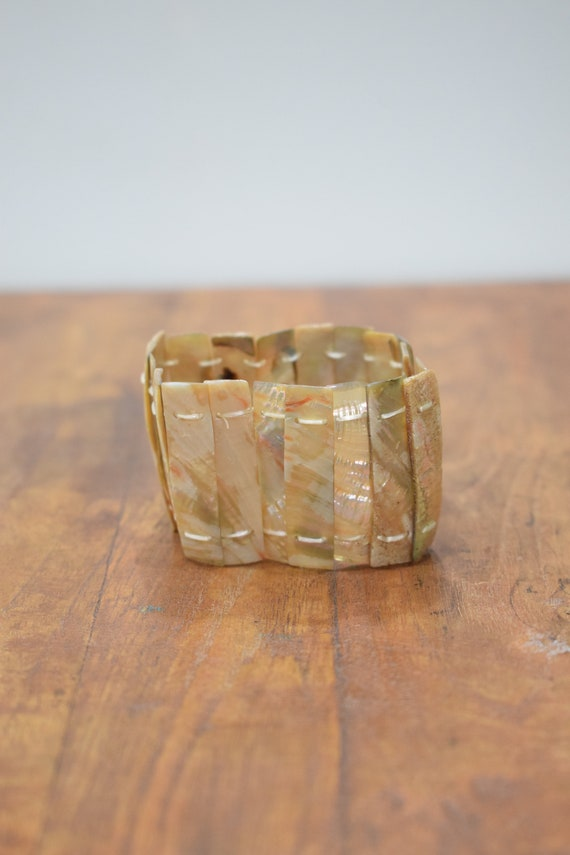 Bracelet Mother of Pearl Stretch Bracelet