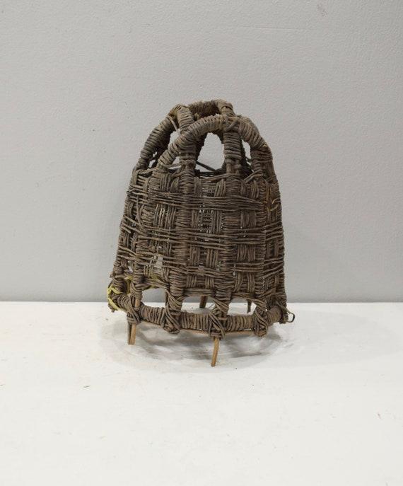 African Basket Ethiopian Beast Burden Basket Borana Tribe