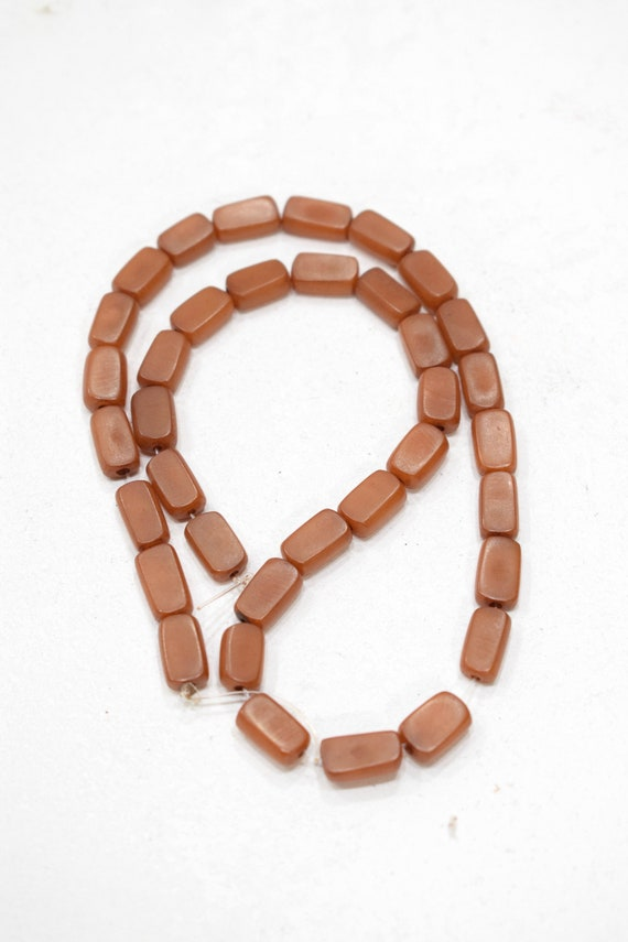 Beads Philippines Buri Nut Square and Oval Tubes 12mm