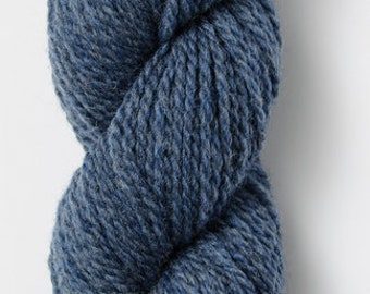 0c245187560849 Woolstok in October Sky - Blue Sky Fibers Fine Highland Wool - Worsted  Weight Yarn