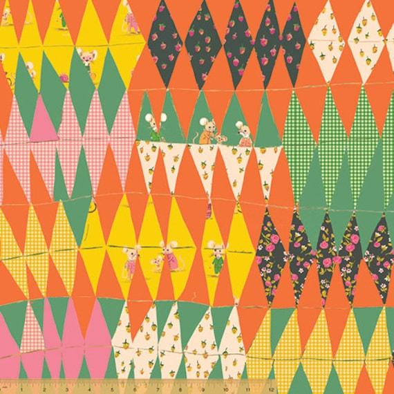Trixie y Thomas Panel De Tela Heather Ross Ratón Craft