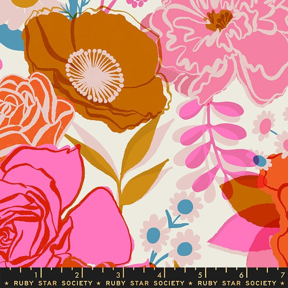 Rise Shine Double Border Shell by Melody Miller for MODA