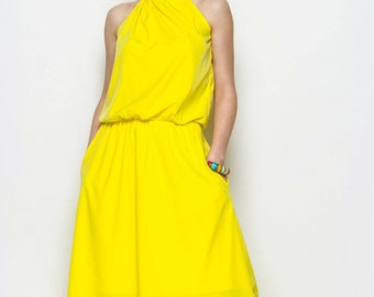 Yellow Long Summer Dresses