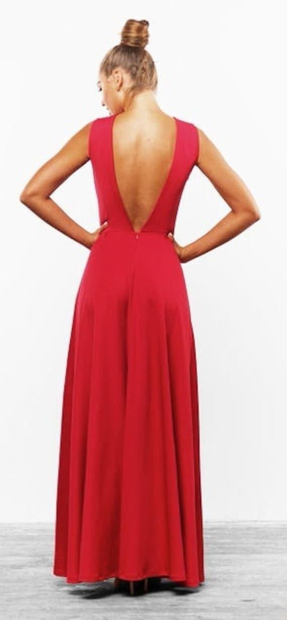 Rotes langes kleid hochzeit