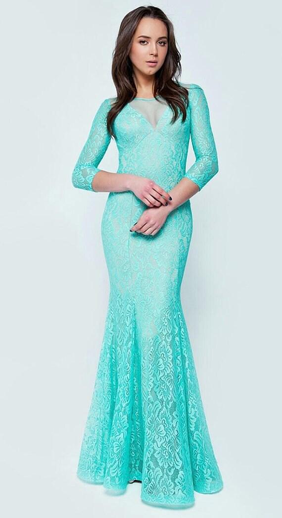 Wedding Dress Formal Dress Fashion Long Dress Mint Maxi Dress Etsy