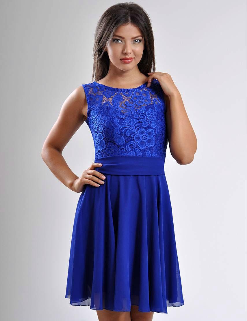 Royal blau Kleid brautjungfernkleid Kobaltblau Hochzeit Kleid