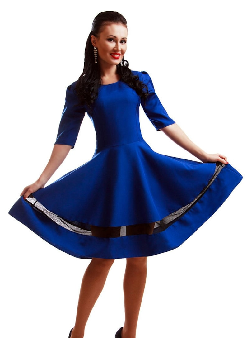 Royal Blue Dress Occasion Dress Cocktail Dress Cobalt Blue Dress Prom Dress Wedding Dress Party Dress For Women Bridesmaid Dress