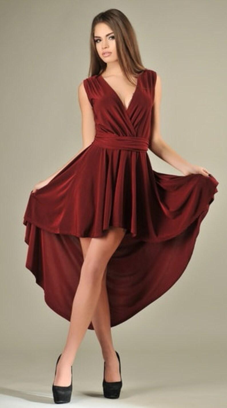 Boden Burgunder Jersey Hochzeit Ausgestellt Elegant Langes Frauen Burgund Abend Kleid Prom Anlass Maxi Luftig nwkX80OP