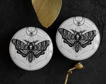 2b5574e0 Moth plugs | Etsy